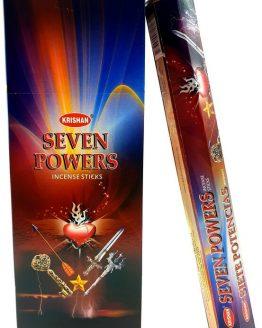 Encens 7 Forces Krishan (3 boîtes de 20 grammes)