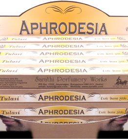 Encens Aphrodesia Tulasi 8bts (5 boîtes de 8 bâtonnets)