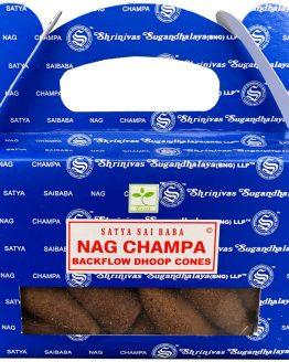 Cônes Backflow Satya Nag Champa