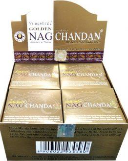 Cônes Vijayshree Golden Nag Chandan
