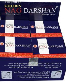 Cônes Vijayshree Golden Nag Darshan