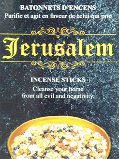 Encens Jérusalem HEM (3 boîtes de 20 grammes)