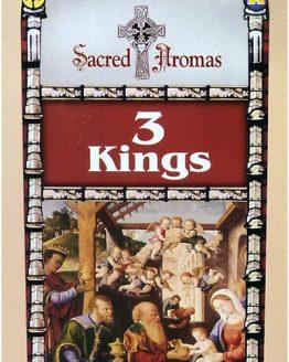 Encens 3 Rois Mages Tulasi (3 boîtes de 20 grammes)