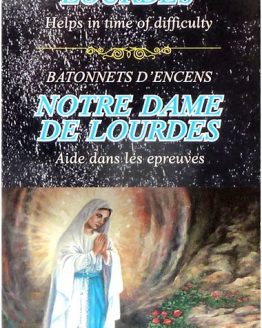 Encens Notre Dame de Lourdes Tulasi