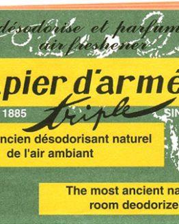 Papier d'Arménie Triple Tradition