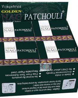 Cônes Vijayshree Golden Nag Patchouli
