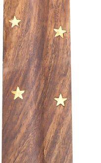 Porte encens bois Yin & Yang 25cm