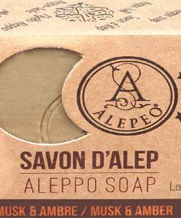 Savon d'Alep Alepeo Musk & Ambre