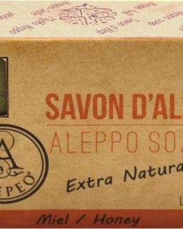 Savon d'Alep Alepeo Miel 8% 100g