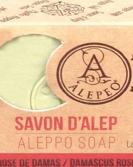 Savon d'Alep Alepeo Rose de Damas