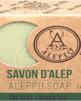 Savon d'Alep Alepeo Thé Vert