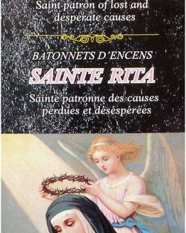 Encens Sainte Rita Tulasi (3 boîtes de 20 grammes)