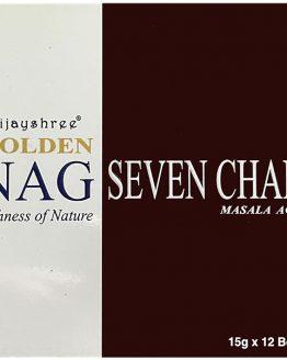 Encens 7 chakras Vijayshree Golden Nag
