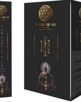 Encens 5 Rites Tibétains Fleur de Vie
