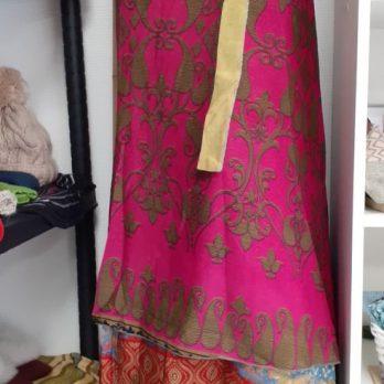 Jupe Sari 2 rangs modèle unique