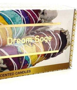 Bougie Dream Sage aux huiles essentielles Fleur de Vie 120g