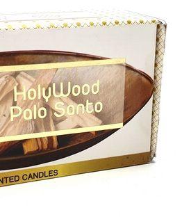 Bougie Palo Santo aux huiles essentielles Fleur de Vie 120g