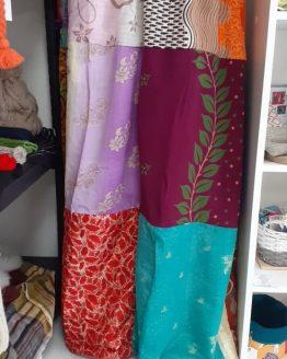 Jupe longue en Sari