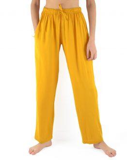Pantalon en rayonne