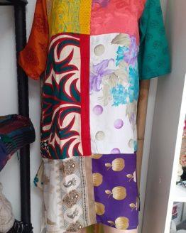 Tunique kurta en Sari
