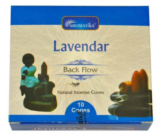Cônes Backflow Lavande Aromatika