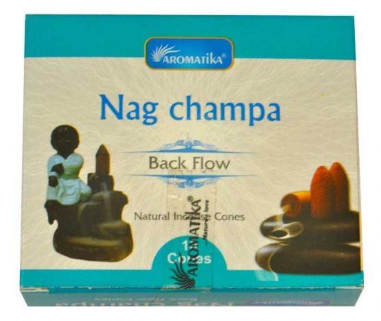 Cônes Backflow Nag Champa Aromatika