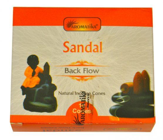 Cônes Backflow Santal Aromatika