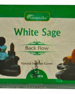 Cônes Backflow Sauge Blanche Aromatika